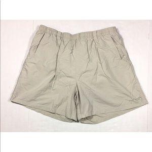 Columbia Omni Shade PFG Beige Swim Trunks Shorts